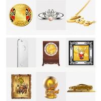 金镶玉看盘 企业周年庆典收藏礼品 企业会议纪念礼品 高档企业会议礼品