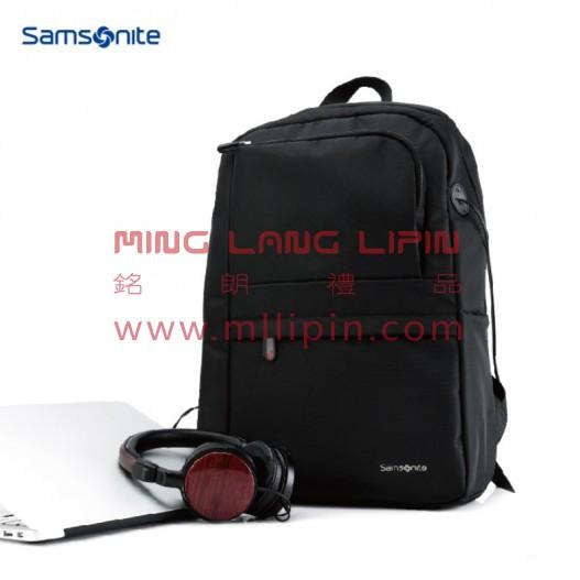 663*09008 新秀丽电脑双肩包-黑 员工福利礼品 送客户 会员积分礼品