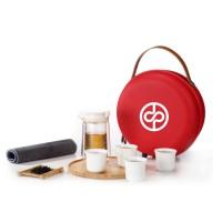 原初格物随圆便携旅行功夫茶具送客户商务礼品定制企业LOGO