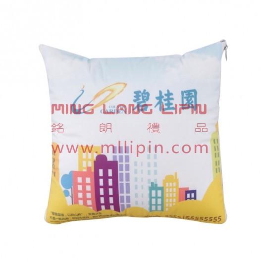 房地产抱枕被子定制LOGO活动礼品会议礼品送客户礼品定制LOGO