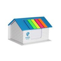 创意房型便签贴纸定制展会宣传礼品商务办公礼品促销礼品定制LOGO