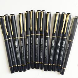 金属签字笔高档商务黑笔定制企业LOGO