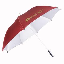 超结实双沟线铝合金高尔 晴雨伞