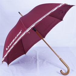 木中棒单槽骨直杆伞 广告宣传礼品伞 企业品牌宣传广告伞