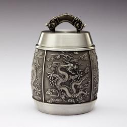 http://www.mllipin.com/龙腾盛世茶叶罐 纯锡茶叶罐