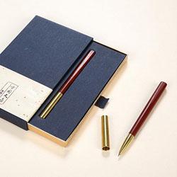 http://www.mllipin.com/紫光檀、黄铜超然签字笔 中国文化礼品 中国特色礼品