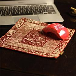 中国剪纸如意鼠标二件套 中国风礼品 政府外事礼品 送老外礼品