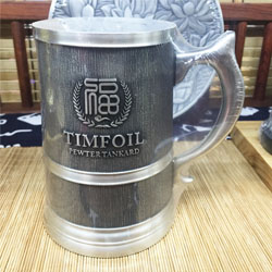 http://www.mllipin.com/某企业定制 纯锡水杯 高档商务会议纪念礼品 高档啤酒杯定做