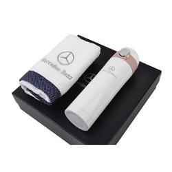 http://www.mllipin.com/奔驰水杯毛巾两件套 礼盒装定做 商务礼品 积分礼品定制