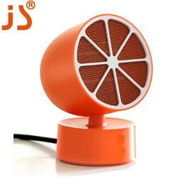 柠檬迷你暖风机公室桌面摇头取暖器 迷你家用电暖气 创新时尚礼品员工福利会员积分礼品设计制作