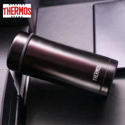膳魔师不锈钢真空保温杯TCCG400 中国红薄荷绿咖红色神秘黑咖不锈钢色