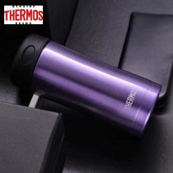 膳魔师保温杯400ml高真空保温杯JCG400 独特紫独特藏蓝独特咖色