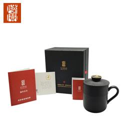 台湾陆宝金猴盖杯茶叶 办公杯茶具简泡飘逸杯 高档商务礼品送领导送客户礼品公司