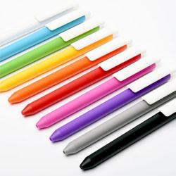 磨砂按动中性签字笔瑞士进口糖果色广告促销笔 展会扫码礼品企业宣传品牌礼品定制LOGO公司