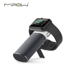 mipow苹果Mfi认证iwatch6000毫安 Apple Watch无线充电宝创意时尚