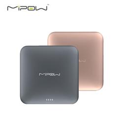 mipow SPL09苹果x移动电源MFi认证9000毫安便携自带线超薄充电宝 深灰色