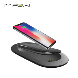 MIPOW5000毫安无线充移动电源 便携无线充电器高档新颖时尚商务礼品公司