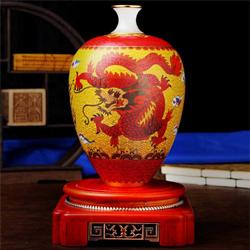 共赢天下景泰蓝玉石工艺收藏礼品送老外送客户国礼公司