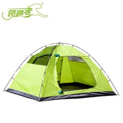 领路者3-4人户外全自动帐篷户外防雨野营帐篷休闲帐篷会员积分礼品公司