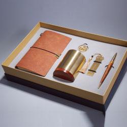 一统江山五件套(手账本+笔筒+书签+书扣+签字笔)中国风礼品套装礼品定做LOGO