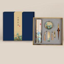 http://www.mllipin.com/千里江山五件套中国风文化礼品企事业外事礼品送外宾礼品定做LOGO