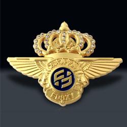 金属钻石徽章定制企业员工奖励礼品定制展会礼品定制LOGO