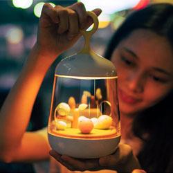 微景观音乐灯创意时尚礼品活动纪念礼品定制LOGO