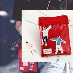 时尚创意mini包手机包挎包定制 商务礼品展会礼品定制LOGO
