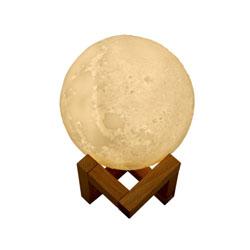 月球灯加湿器创意小夜灯加湿器年会礼品展会礼品企业伴手礼品定制LOGO