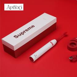 艾优电动牙刷电式通用成人声波震动牙刷白色礼盒装 员工生日礼品送客户礼品定制
